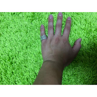 Ron Herman - laver silver ring