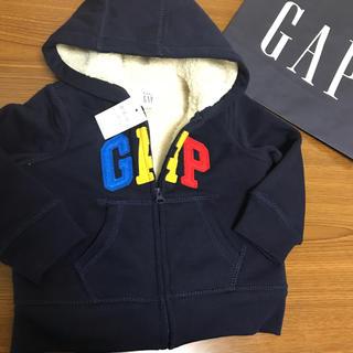 babyGAP - ギャップ80☺︎ボアパーカー ザラ、プチバトー、プチバトー好きにも