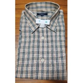 BURBERRY - 【美品 中古品】バーバリーロンドン 半袖 メンズ カジュアルシャツ