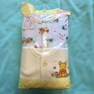 Disney - 新品☆プーさん 長袖 シャツ 肌着 2枚セット