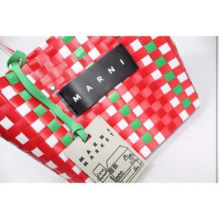 Marni - 値下げ MARNI(マルニ) ピクニック フラワーカフェ (レッド)