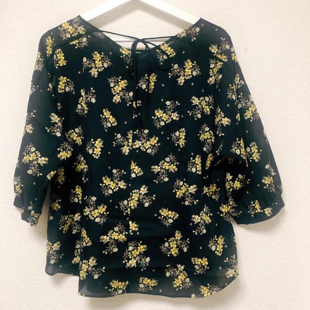 UNTITLED(アンタイトル)のアンタイトル 花柄ブラウス レディースのトップス(シャツ/ブラウス(長袖/七分))の商品写真