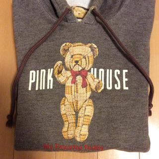 ピンクハウス(PINK HOUSE)のPINKHOUSE ピンクハウス くまさんパーカー(パーカー)