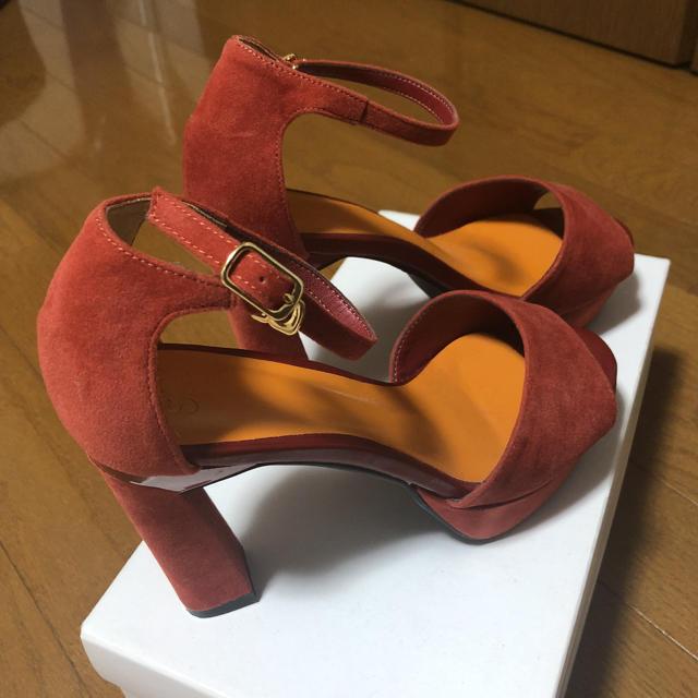 SLY(スライ)のSLY オレンジ サンダル ヒール レディースの靴/シューズ(サンダル)の商品写真