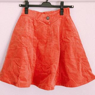 ローリーズファーム(LOWRYS FARM)のコーデュロイスカート(ひざ丈スカート)