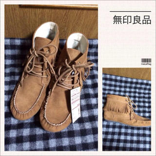 ムジルシリョウヒン(MUJI (無印良品))の無印良品♡新品 ブーツ(ブーツ)