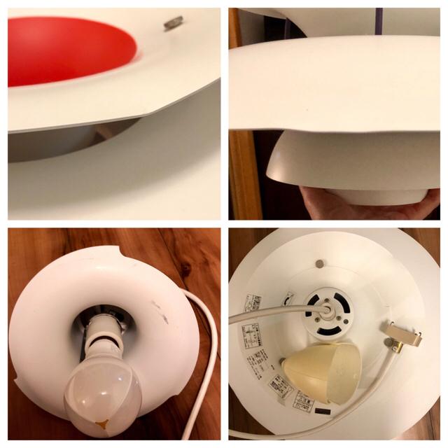 ACTUS(アクタス)のルイスポールセン PH5 クラシックホワイト インテリア/住まい/日用品のライト/照明/LED(天井照明)の商品写真