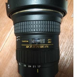 Canon - トキナー AT-X 17-35mm F4 Pro FX キヤノン用