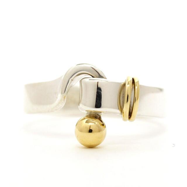 Tiffany & Co.(ティファニー)の中古品 ティファニー Tiffany &Co. フックアンドアイ リング レディースのアクセサリー(リング(指輪))の商品写真