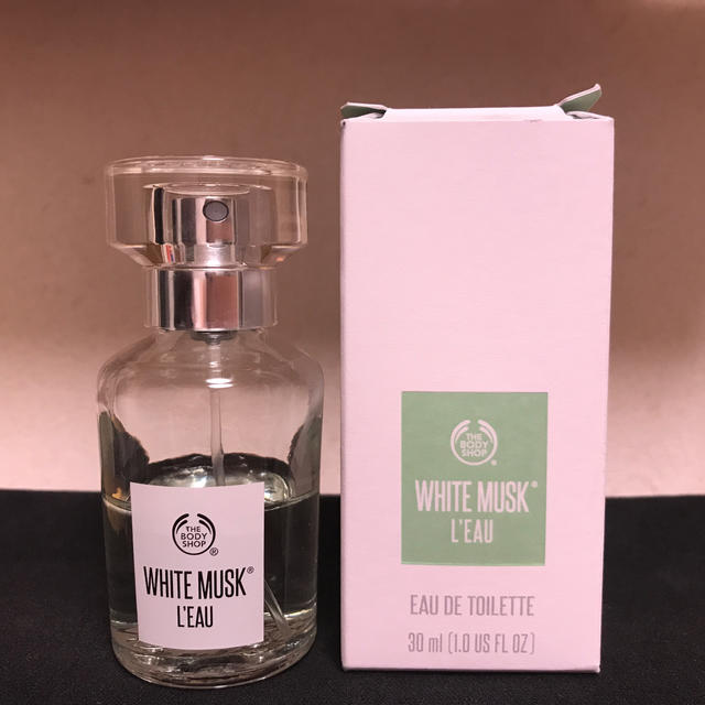 THE BODY SHOP(ザボディショップ)のザ.ボディショップホワイトムスクオードパルファム      ムスクロー2本セット コスメ/美容の香水(ユニセックス)の商品写真
