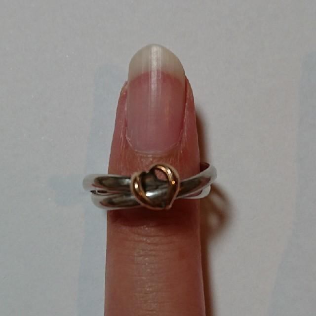 4℃(ヨンドシー)の4℃二連リング レディースのアクセサリー(リング(指輪))の商品写真
