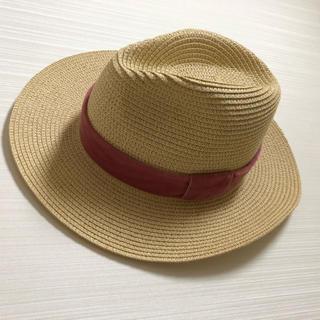 リリーブラウン(Lily Brown)のLilly Brown 麦わら帽子(麦わら帽子/ストローハット)