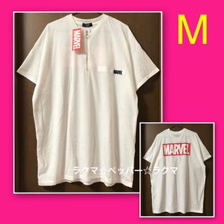 マーベル(MARVEL)の少し訳あり‼️ MARVEL マーベル ビッグTシャツ M(Tシャツ(半袖/袖なし))
