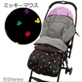 Disney - 可愛い!ミッキー柄 ベビーカー用 防水2wayフットマフ