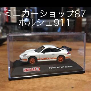 Porsche - ポルシェ911 ミニカー オレンジホイール