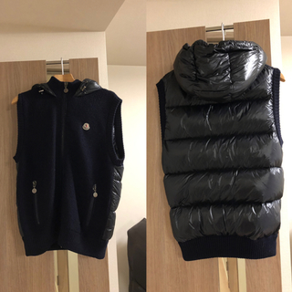 MONCLER - モンクレール ダウンベスト MAGLIONE TRICOT GILET