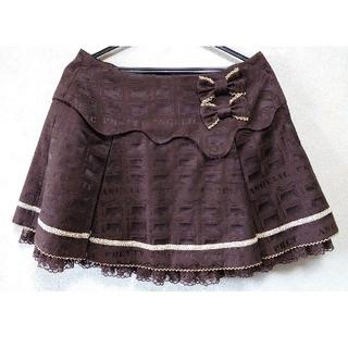 アンジェリックプリティー(Angelic Pretty)のアンジェリックプリティ Melty Royal chocolate スカート(ミニスカート)