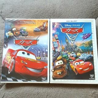 Disney - 【美品】カーズ①②(DVD+Blu-ray)2枚セット