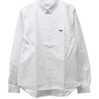 MAISON KITSUNE' - 新品 メゾンキツネ maison kitsune シャツ トリコロール 長袖