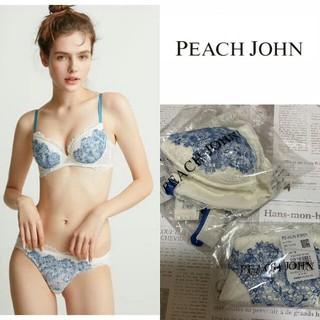 PEACH JOHN - 新品タグ付き ピーチジョン ブラ&ショーツ セット