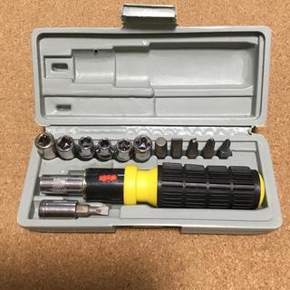 ドライバー ビット ソケット 工具セット(工具/メンテナンス)