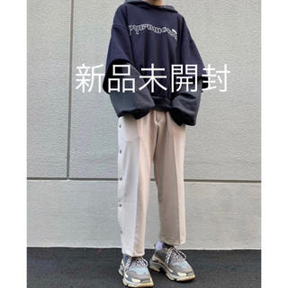 cruffin side snap button cropped pants