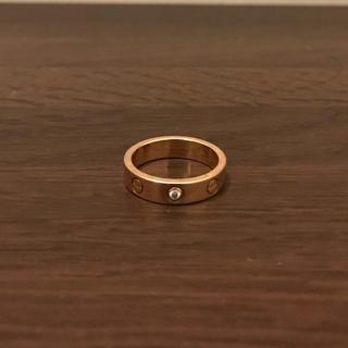 カルティエ(Cartier)のCartier LOVE 1P カルティエ ラブリング(リング(指輪))
