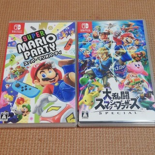 Nintendo Switch - 大乱闘スマッシュブラザーズ SPECIAL スーパーマリオパーティ 2本セット