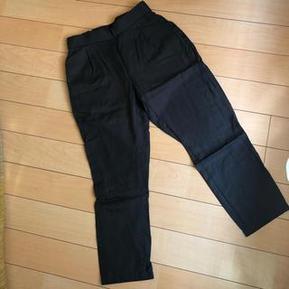ムジルシリョウヒン(MUJI (無印良品))の無印良品 パンツ チャコールグレー Mサイズ(クロップドパンツ)