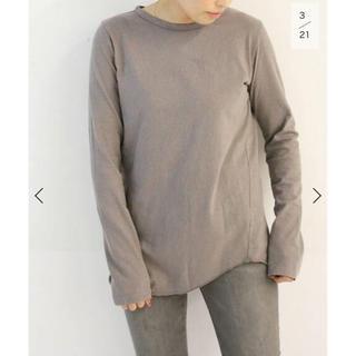 DEUXIEME CLASSE - Layering Tシャツ ブラウンB 新品タグ付き 試着無し