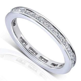 モアサナイトエタニティリング(リング(指輪))
