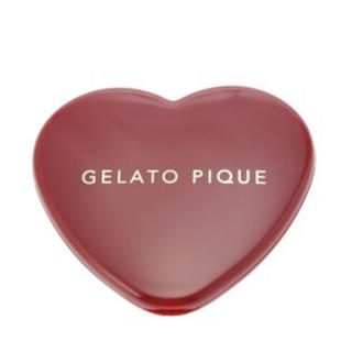 gelato pique - ハート型ミラー ジェラートピケ 新品未使用 レッド ジェラピケ 手鏡 ミラー