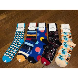 ビームス(BEAMS)のハッピーソックス レディース5足 定価7,020円 happy socks(ソックス)