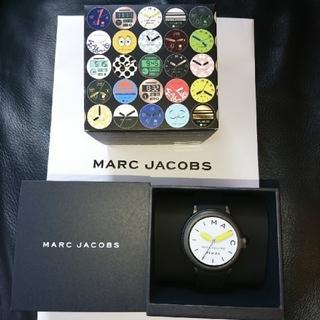 マークジェイコブス(MARC JACOBS)の新品、未使用MARC JACOBS ライリー タッチ スクリーン 44 ブラック(腕時計)
