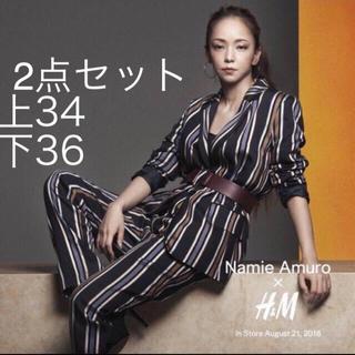 エイチアンドエム(H&M)の安室奈美恵、アムラー、2点セット、新品未使用タグ付き、韓国、海外、ジャケット、(ミュージシャン)