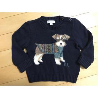 Ralph Lauren - Ralph Laurenのセーター 12m80 男の子 秋冬 ラルフローレン