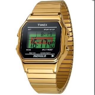 ゴールド Supreme/Timex Digital Watch シュプリーム