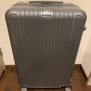 RIMOWA - RIMOWA リモワ スーツケース サルサデラックス グレー 86L