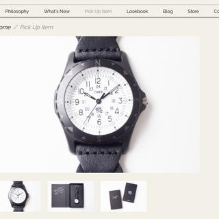 ロンハーマン(Ron Herman)のronherman  ロンハーマン TIMEX 時計(腕時計(アナログ))