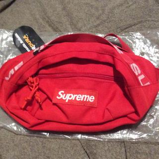 Supreme - supreme waistbag 18ss red