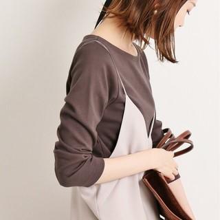 IENA - IENA【イエナ】☆AURALEE*IENA 別注ボートネックTシャツ 新品38