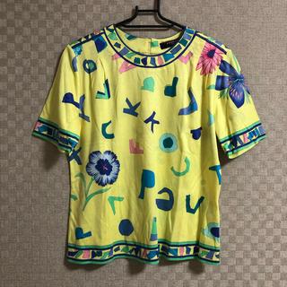 レオナール(LEONARD)のLEONARD Tシャツ 柄 レディース トップス(Tシャツ(半袖/袖なし))