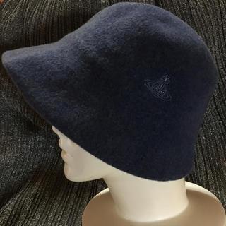 ヴィヴィアンウエストウッド(Vivienne Westwood)のVivienne Westwood  ゆったりつば広帽子(ハット)