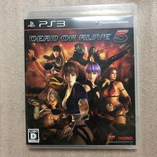 プレイステーション3(PlayStation3)のDEAD OR ALIVE 5 PS3版(家庭用ゲームソフト)