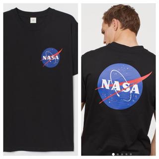 エイチアンドエム(H&M)の【H&M】新作&新品 HERON モデル ☑️ NASA Tシャツ Mサイズ(Tシャツ/カットソー(半袖/袖なし))