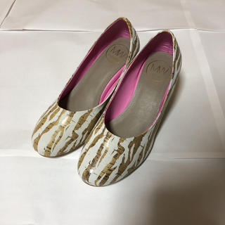 mywarisa Heels Zebra (White) 36(ハイヒール/パンプス)