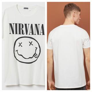 エイチアンドエム(H&M)の【H&M】新作&新品 ☑️ NIRVANA Tシャツ Mサイズ(Tシャツ/カットソー(半袖/袖なし))