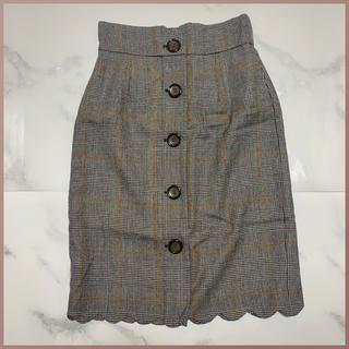 31 Sons de mode - 31 Sons de mode チェックタイトスカート