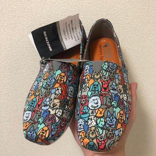 スケッチャーズ(SKECHERS)の「23.5センチ」スケッチャーズ Bobs Plush Woof Party靴(スニーカー)