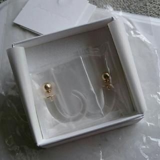 マメ(mame)のmame マメ Glass Icicles  Pierced Earrings(ピアス)